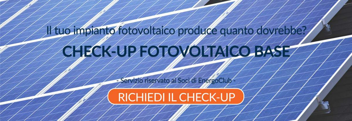 check-up fotovoltaico base